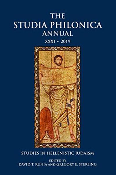 Studia Philonica Annual XXXI, 2019: Studies in Hellenistic Judaism