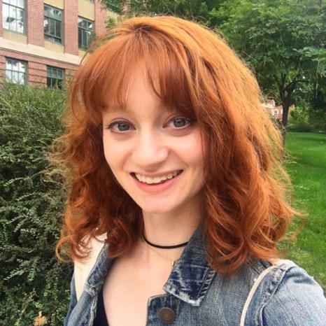 Scholarship student Cecilia Bellamy