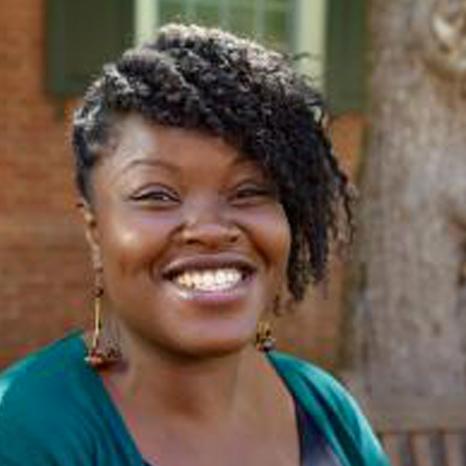Scholarship student Shancia Jarrett