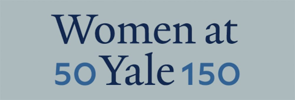 Logo of Women at Yale celebration